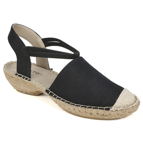 Womens Rialto Crest Espadrille Wedge Sandals