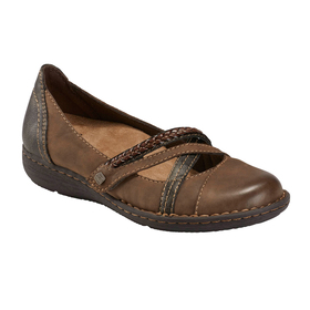 Womens Earth Origins Tamara Toriana Flats - WIDE