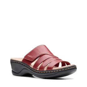 Womens Clarks® Lexi Sabrina Strappy Slide Sandals