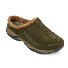 Womens Easy Spirit Exchange Suede Clogs
