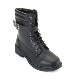 Womens Wanted Zoomie Tranpunto Collar Ankle Boots
