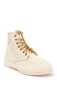 VULCANIZER High Top Mock Toe Sneaker