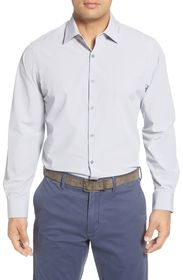 MOVE Trim Fit Dobby Button-Up Shirt