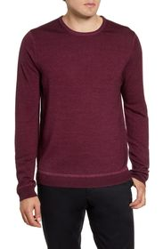 Nordstrom Signature Merino Dye Crew Neck Sweater