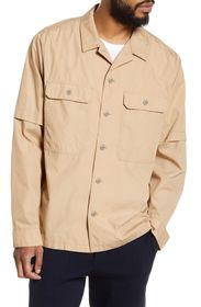 Vince Slim Shirt Jacket