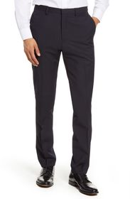 Tiger of Sweden Flat Front Stripe Wool Dress Pants