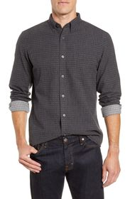 NORDSTROM MEN'S SHOP Trim Fit Button-Down Shirt