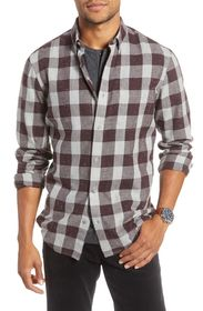 1901 Long Sleeve Plaid Buffalo Check Shirt