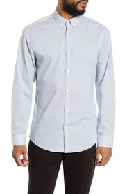 CALIBRATE Trim Fit Button-Down Shirt
