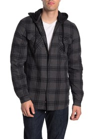 GLOBE Alford III Plaid Long Sleeve Standard Fit Sh