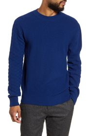 Oliver Spencer Blenheim Slim Fit Crewneck Wool Swe