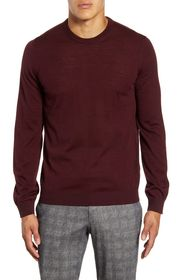 Brax Rick Crewneck Merino Wool Sweater