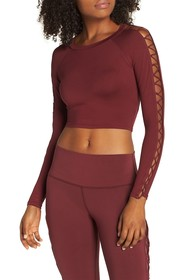 Alo Highline Fitted Crop Top