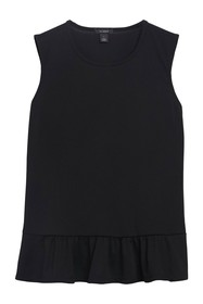 Halogen Sleeveless Peplum Hem Top