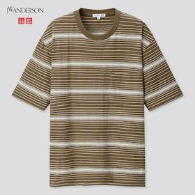 Men Striped Short-Sleeve T-Shirt (Jw Anderson), Ol