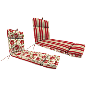 Jordan Floral and Sage Leaves High Back Chaise Cus