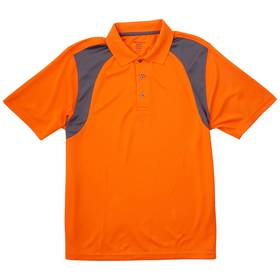 Mens Architect® Golf New Color Block Poly Polo