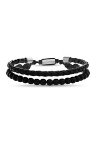 REINFORCEMENTS Stainless Steel Beaded & Braided Le