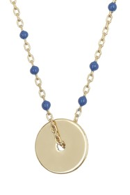 Argento Vivo 18K Gold Plated Sterling Silver Ename