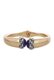 Laundry By Shelli Segal Crystal Pave Hinged Bracel