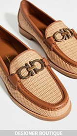 Salvatore Ferragamo Rolo T Loafers