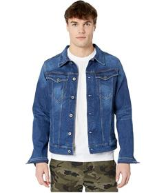 G-Star 3301 Slim Jacket in Faded Stone