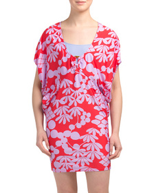 Reveal Designer Bali Blossoms Cover-up Tunic