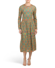 M MISSONI Made In Italy Embroidered Dress