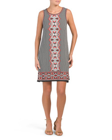 MAX STUDIO Whimsy Standing Panel Jersey Dress