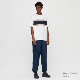 Men Striped Short-Sleeve T-Shirt (Online Exclusive