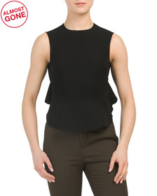 BALENCIAGA Made In France Peplum Top