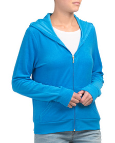 JUICY COUTURE Microterry Robertson Jacket