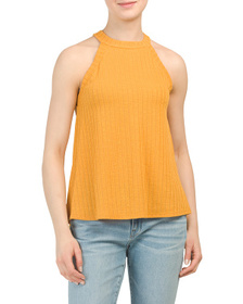 W5 CONCEPTS Made In Usa Sleeveless Knit Tank