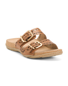 EARTH Leather Comfort Sandals