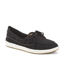 SPERRY Comfort Canvas Boat Shoes
