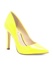 JESSICA SIMPSON Neon Pointy Toe Pumps