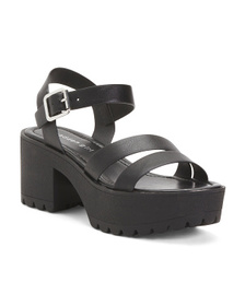 MADDEN GIRL Platform Strappy Sandals