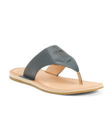SPERRY Nautical Thong Toe Leather Sandals