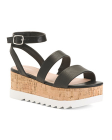 MADDEN GIRL Razor Flat Strappy Sandals