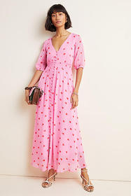Anthropologie Valentina Maxi Dress