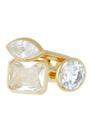 Covet Assorted Solitaire CZ Ring Set - Set of 3