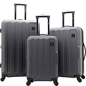 Travelers Club Luggage Albany Collection 3 Piece E