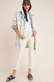 Anthropologie Catelyn Colorblocked Utility Anorak