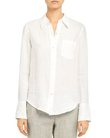 Theory - Linen Button-Up Shirt