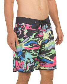 QUIKSILVER Highline Graphic Boardshorts