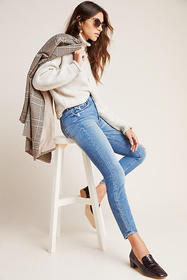 Anthropologie MOTHER The Looker High-Rise Skinny J