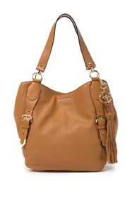 MICHAEL Michael Kors Brooke Large Leather Shoulder