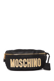 MOSCHINO Brand Logo Belt Bag