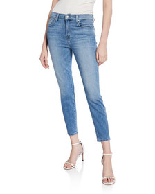7 For All Mankind Gwenevere High-Waist Skinny Ankl