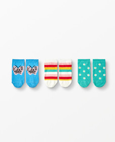 Hanna Andersson Ankle Socks 3 Pack
